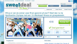 SweetDeal.nl screenshot