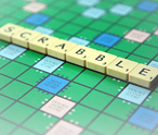 Scrabble in de winkel