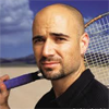 Andre Agassi wint Australian Open