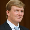 Willem-Alexander in de sloot