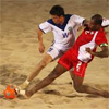 Beachvoetbal is sport