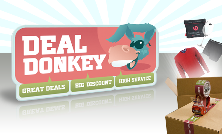 DealDonkey presenteert nieuwe website