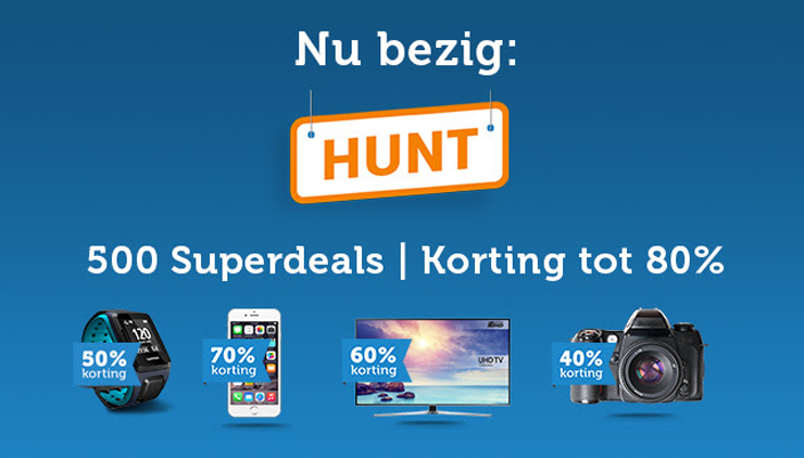 iBOOD HUNT in volle gang!