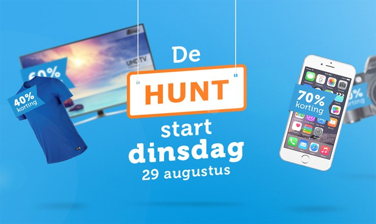 Ready, set, go! iBOOD Hunt van start!