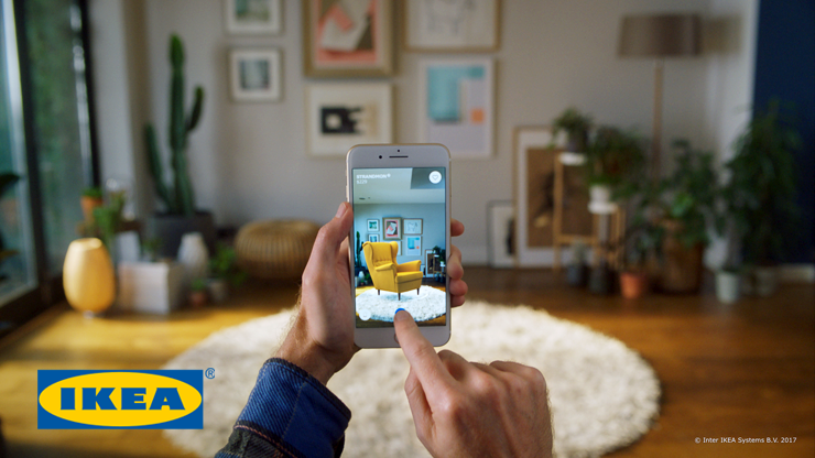 IKEA Place app toont meubels in augmented reality