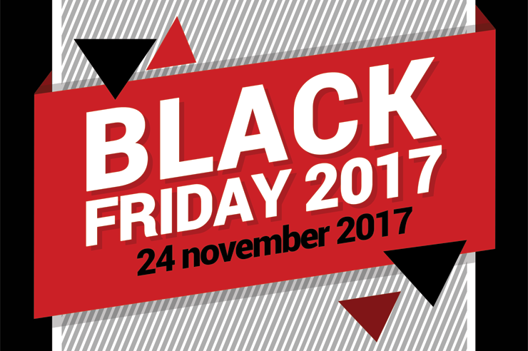 Noteer in je agenda: Black Friday 2017!