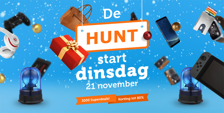 21 & 22 november: iBOOD Hunt!