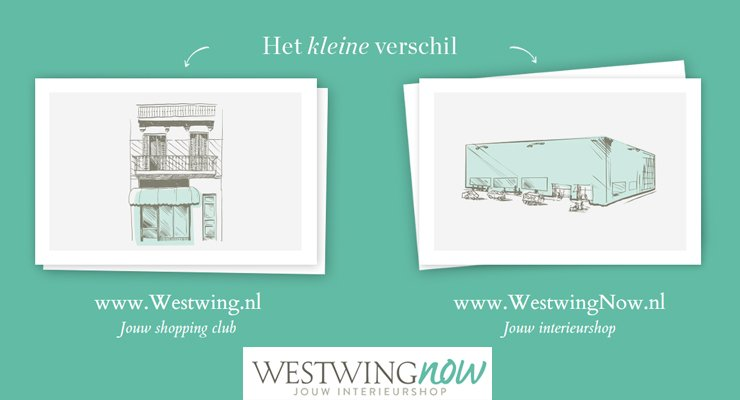 Westwing's webshop WestWingNow naar Nederland