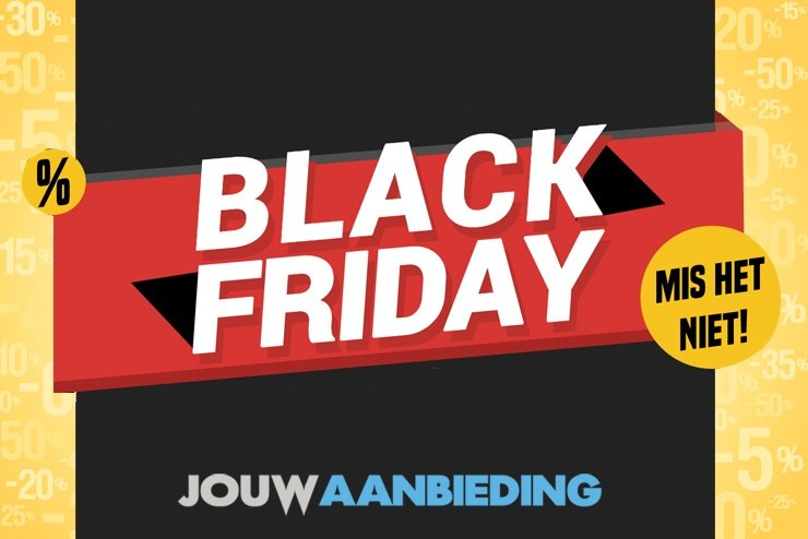 Vrijdag 29 november: Black Friday 2019 losgebarsten!